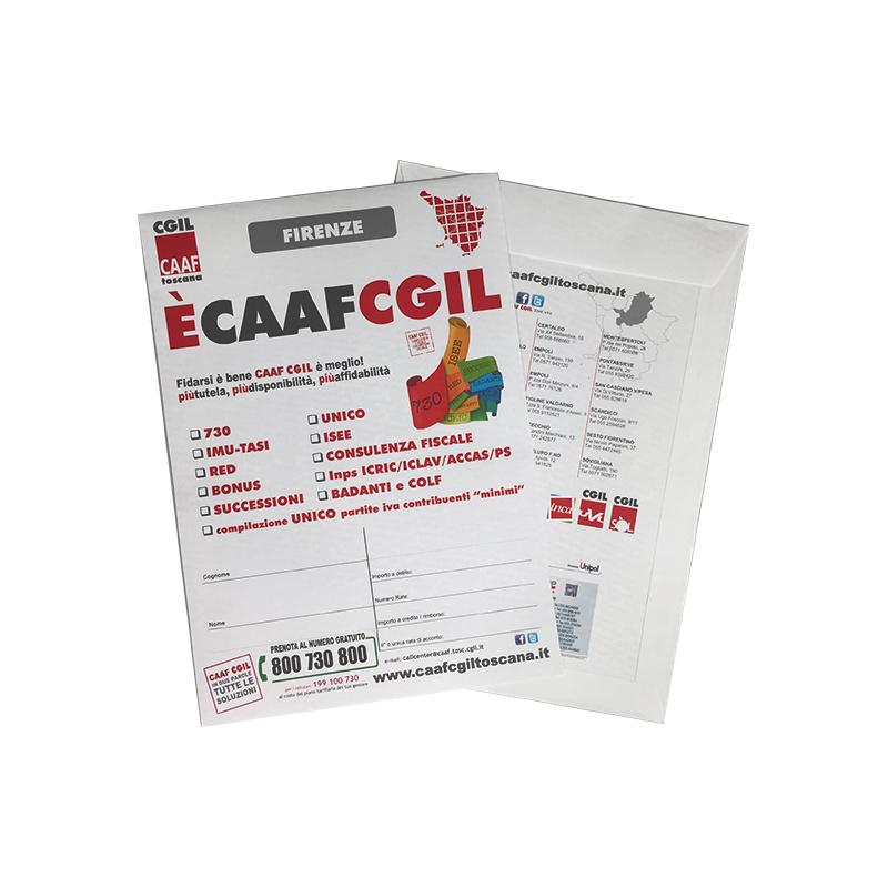 Buste a sacco personalizzate-Caaf Cgil Toscana