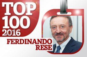 Ferdinando Rese - Presidente Errebian - nella Top100 dei Dirigenti stilata da OPI