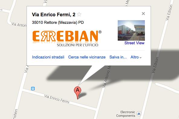 googlemap_showRoom_padova