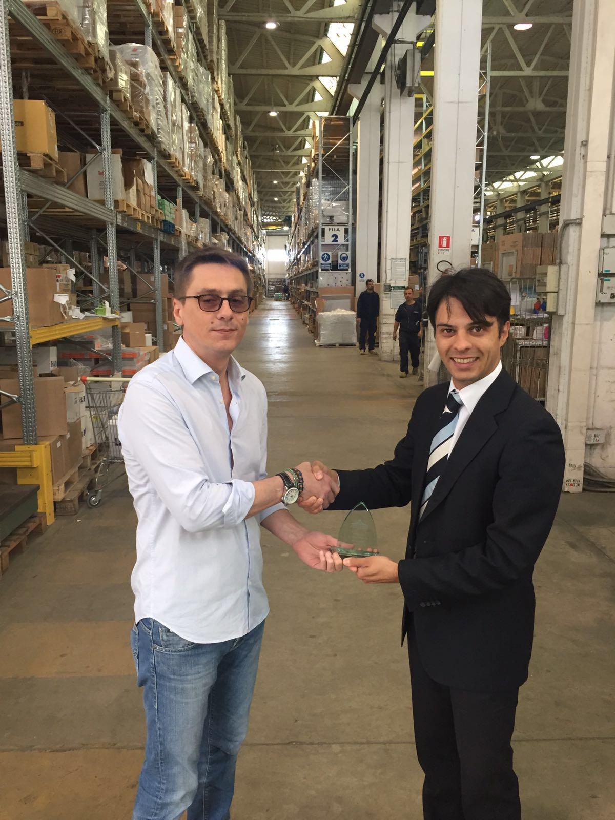 Errebian Portwest Distributor Award_2
