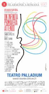 """Locandina dell'Opera """"Un'infinita primavera attendo"""" alla memoria di Aldo Moro. Main Sponsor Errebian"""